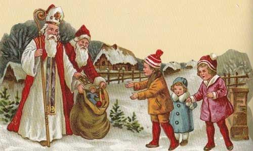 Santa Claus che regala doni ai bambini| CConfort Hotels