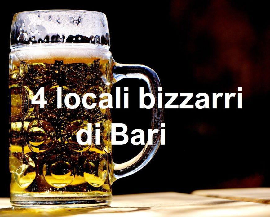 4 locali bizzarri di Bari | cconforthotels.com | CConfort Hotels