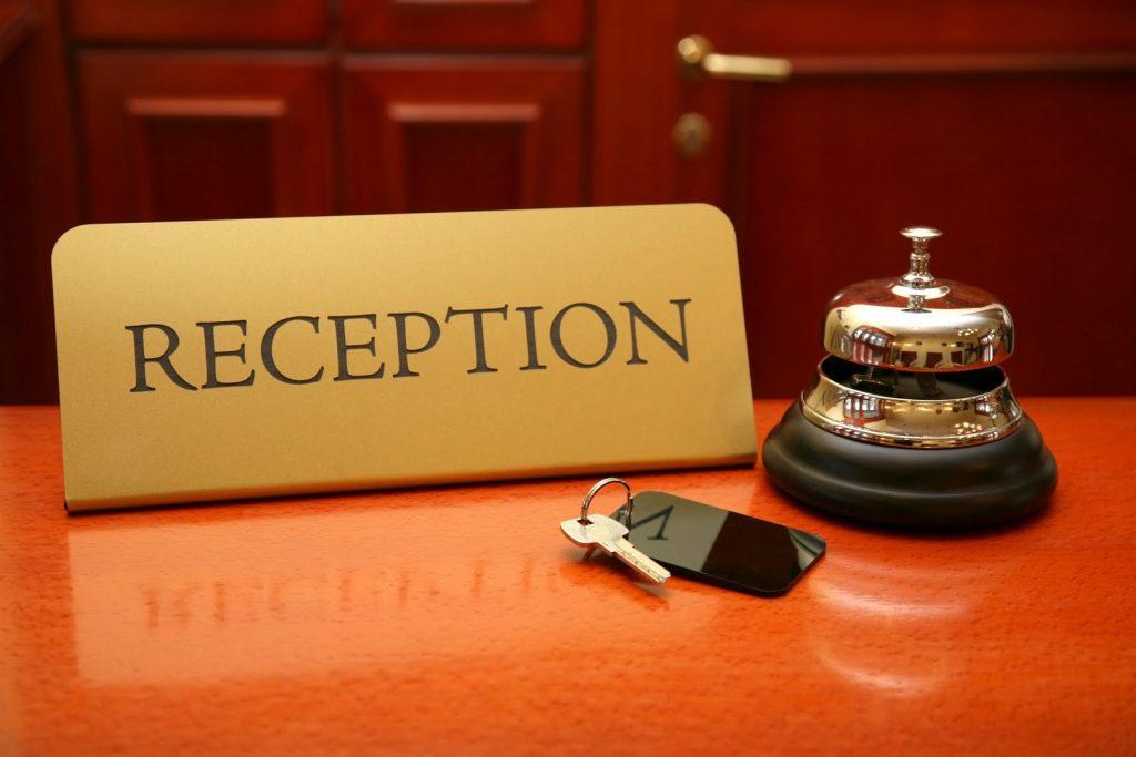 Reception della CConfort Hotels | cconforthotels.com | Gestione Alberghiera | Bari