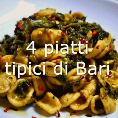Orecchiette con Cime di Rapa | cconforthotels.com | 4 piatti tipici di Bari