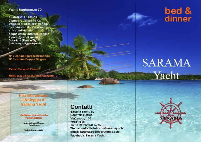 Brochure SARAMA Yacht lato 1